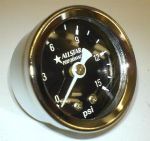 0 to 15 psi mini gauge 520-15
